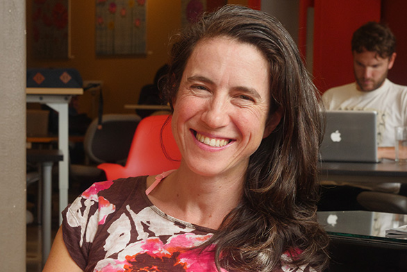 Liz Trice (SF98) owns and operates PelotonLabs in Portland, Maine.