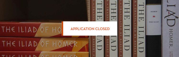 The Summer Seminar Series application is now closed.