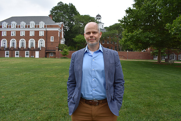 Nathan Dugan is the new assistant dean of St. John's College in Annapolis.