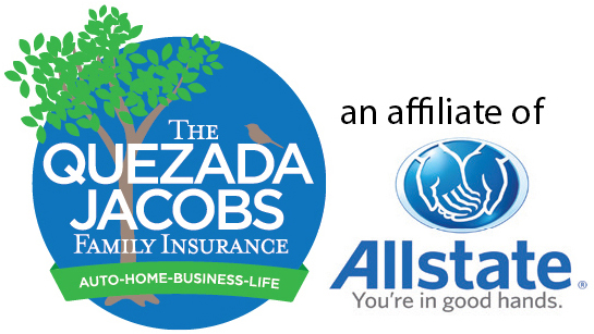 Quezada Jacobs Family Insurance Allstate Logo