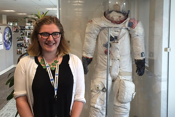Catherine Baldwin (A18) interned last summer at the NASA History Program Office in Washington, D.C.
