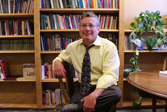 Michael Golluber is the new assistant dean of St. John's College in Santa Fe.