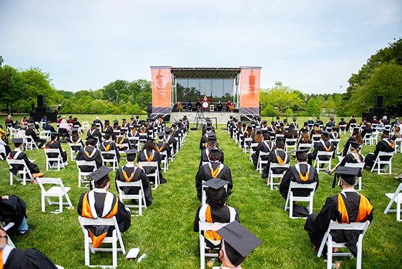 2021 Annapolis Commencement Image for News Story