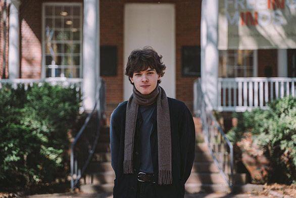 Annapolis Student Levan Kiladz St Johns College