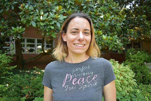 Tutor Rebecca Goldner, St John's College, Annapolis