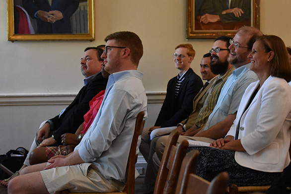 Students participate in GI Summer Convocation at St. John's College in Annapolis