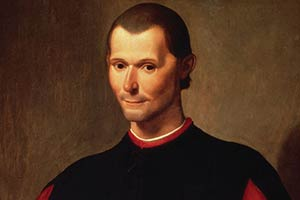 Portrait of Niccolo Machiavelli Santi di Tito