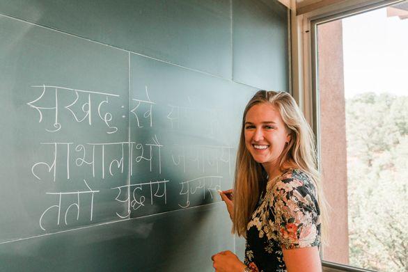 Santa Fe Graduate Student Kelsey Hennegen