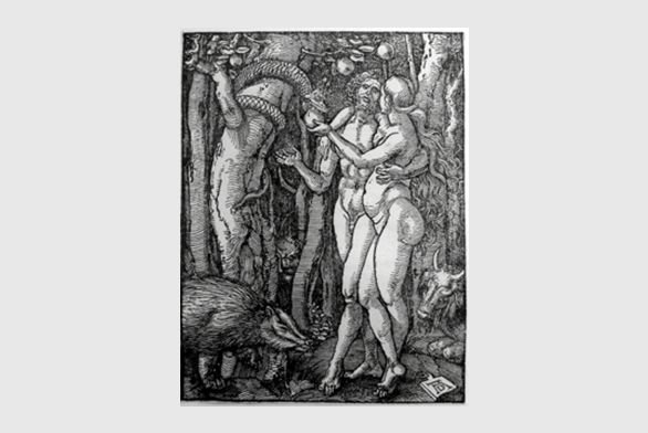 Albrecht Durer Print of the Garden of Eden