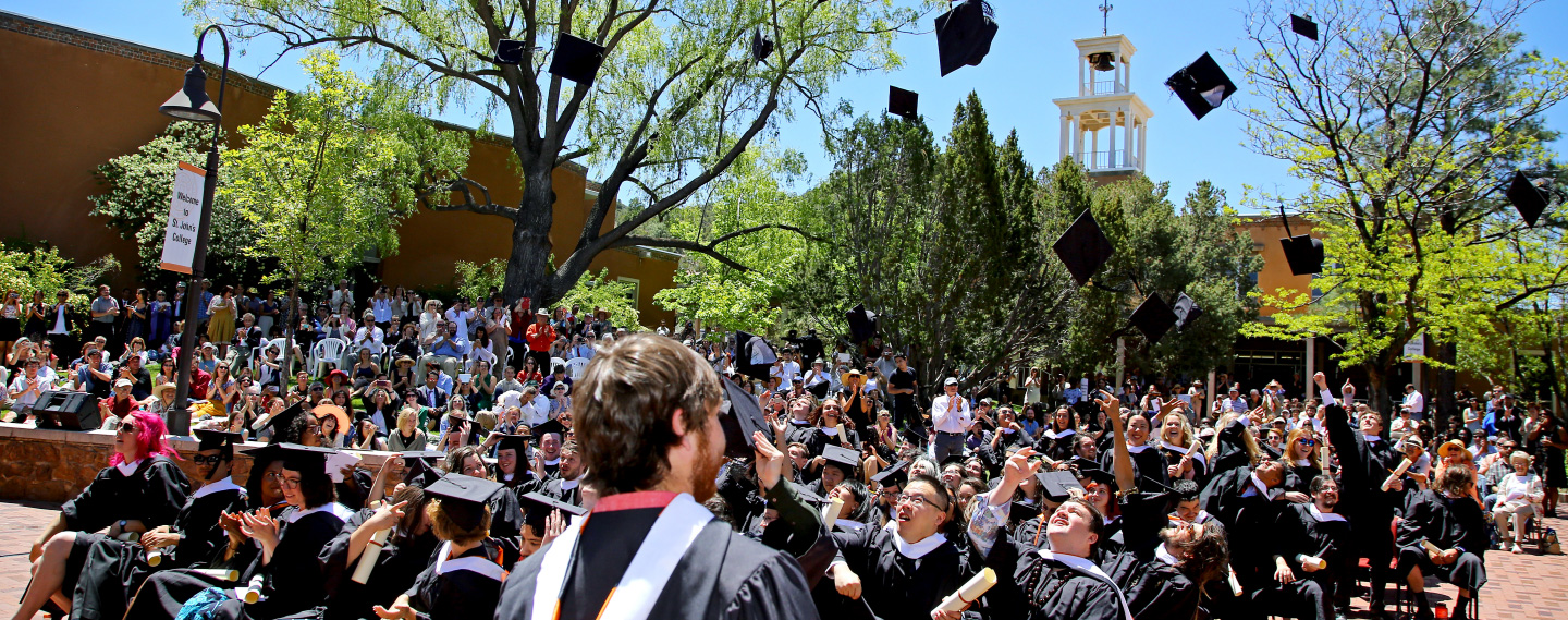 Santa Fe Commencement & Scheduled Events   St  John's College