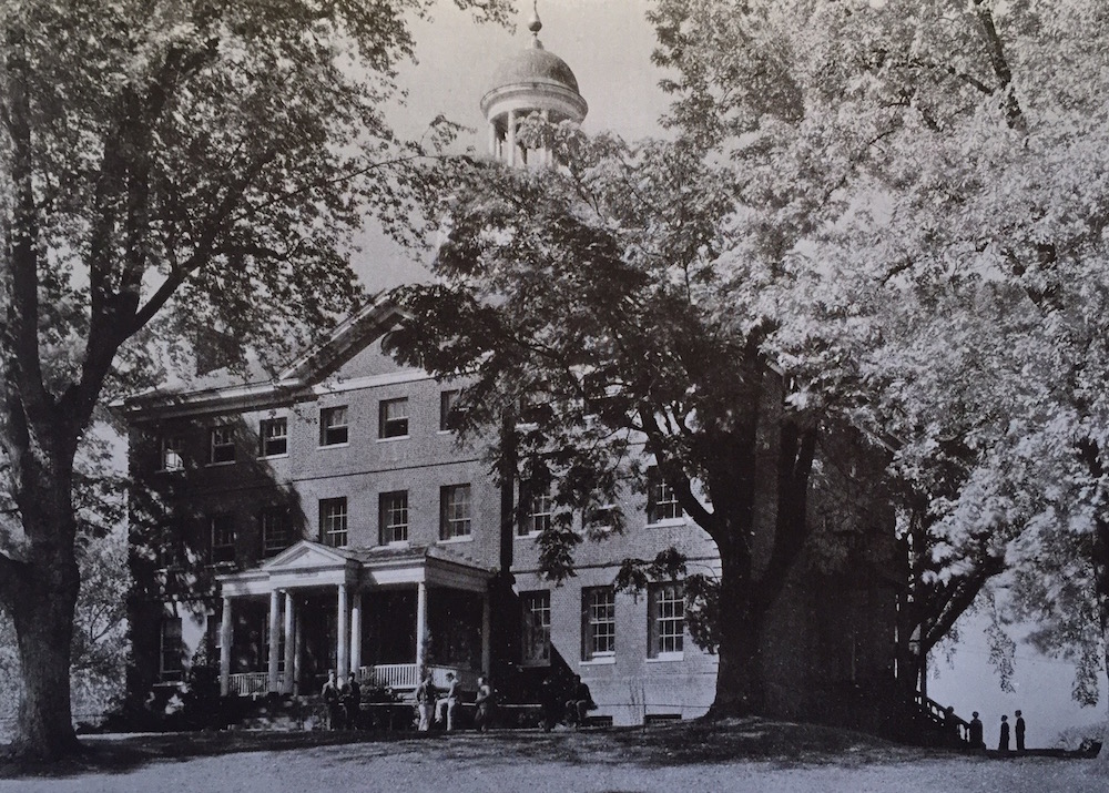 1933 Annapolis Campus Views McDowell Hall