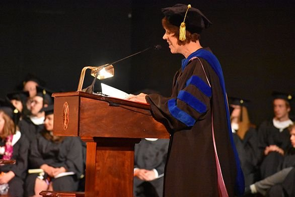 Dean Emily Langston Speaks at 2018 Commencement