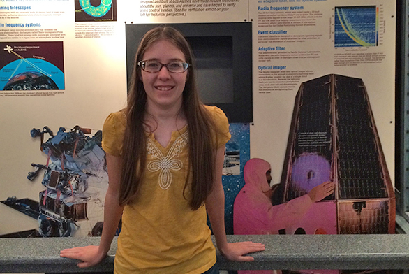 Kristin Hoch interned over the summer at Los Alamos National Laboratory in New Mexico.