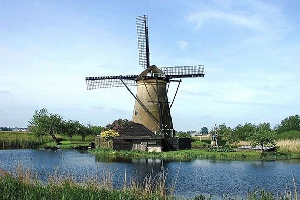 Mitchell Gallery Travels Dutch Windmill