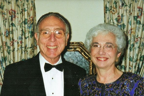 Bill and Carol Tilles are alumni and longtime donors to the college