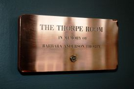 Peterson Building Thorpe Room Placque