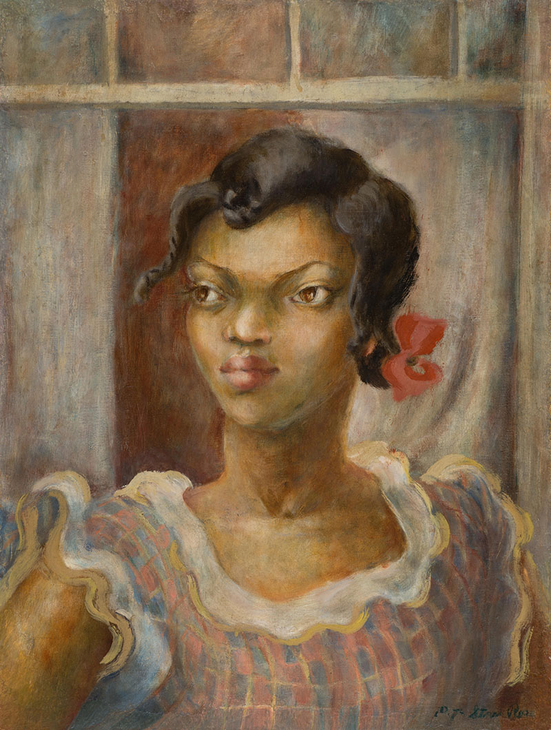 A Ruth Starr Rose portrait of Anna May Moaney from will be on display in the Mitchell Gallery.