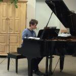 John Monday Playing Piano