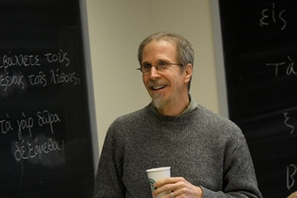 John Cornell teaches in France
