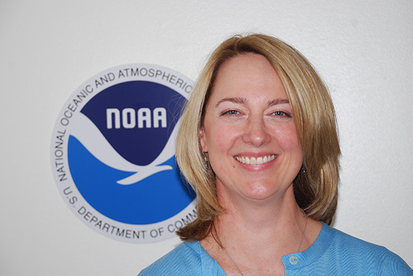 Sarah Schoedinger is the senior program manager for the National Oceanic and Atmospheric Administration's Office of Education.
