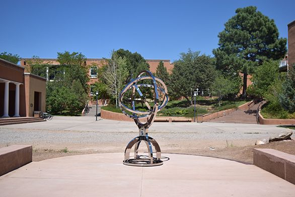 Armillary Sphere on Santa Fe campus