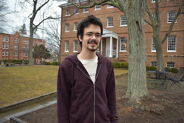 St. John's senior John Himes is set to compete in an international Magic: The Gathering tournament in Ireland.