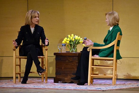 Andrea Mitchell and Judy Woodruff