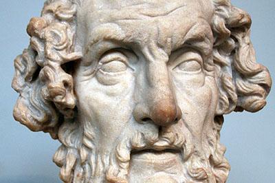 Homer Bust British Museum