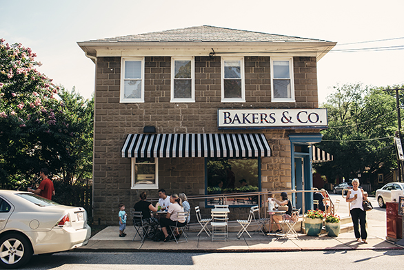 Bakers & Co. sits in Eastport, a community in Annapolis.