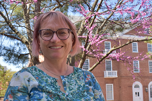 Patricia Locke has been a tutor at St. John's College since 1984.
