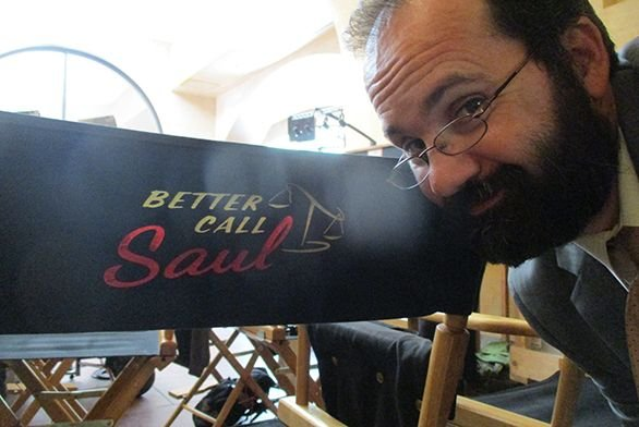 Stephen Conn on Set of Better Call Saul