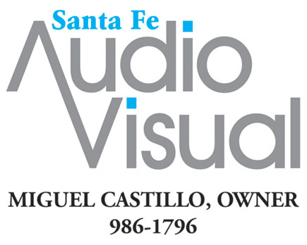 Santa Fe Audio Visual Logo