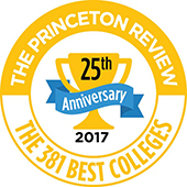 Princeton Review 381 Best Colleges Logo
