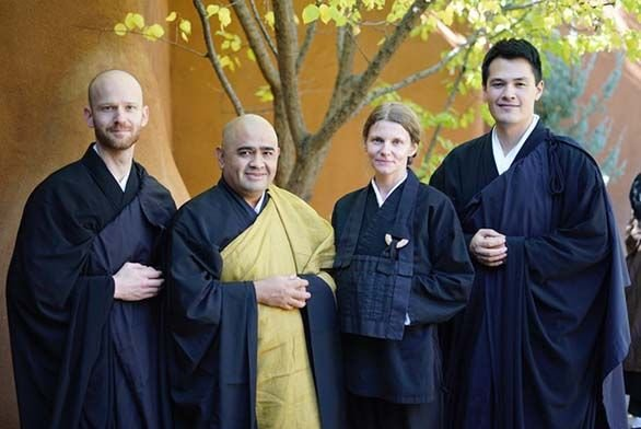 St Johns College Alumni at Upaya Zen Center