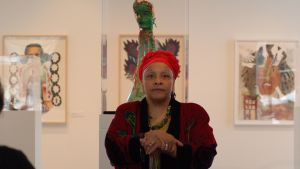 Mitchell Gallery Education Artist Joyce J Scott 2010