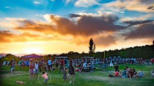 Music on the Hill 2018 Sunset