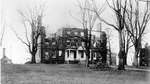 McDowell Hall after Fire of 1909