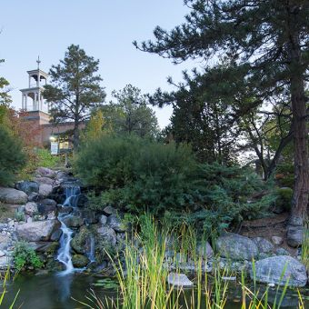 Santa Fe Campus Pond Tower Concept