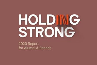 Annual Report Holding Strong Cover 2020
