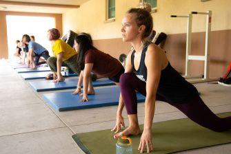Summer Academy Yoga Class Santa Fe