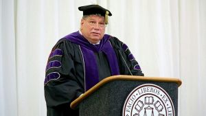 Santa Fe Inauguration Annapolis President Chris Nelson 2016