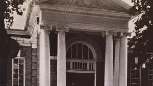 1933 Annapolis Campus Views 8 Gymnasium Door