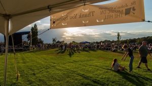 Music on the Hill 2018 View from Tent