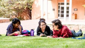 Santa Fe Campus Students Lawn 2016