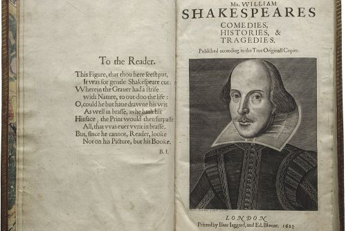 Shakespeare First Folio Folger