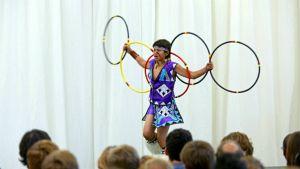 Indian Pueblo Hoop Dancer