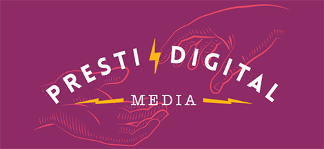 Presti Digital Media Logo